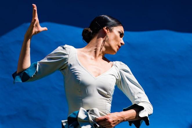 """Flamenco Fuentes"" - Savannah Fuentes of ""Féria,"" performs at the Capitol Sunday. - TITO FUENTES"