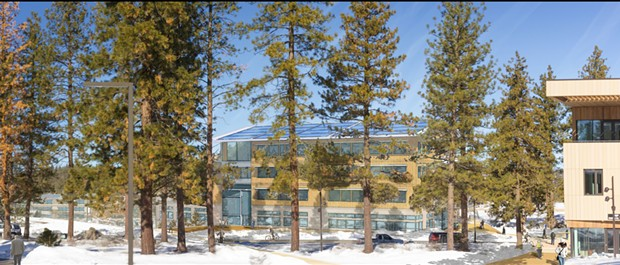 Conceptual image of future STEAM academic building. - OSU-CASCADES