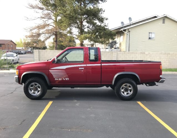 Rodriguez' pickup is a maroon Nissan, like this one. - SUNRIVER POLICE