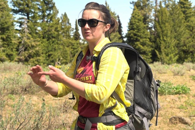 Sarah Cuddy, Oregon Wild Ochocos coordinator. - SUBMITTED