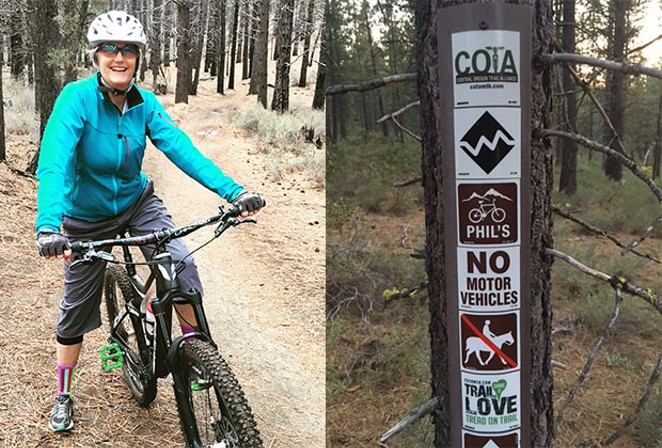 The Phil's Trail network is a must-do for MTB noobs and visitors to Bend. - SWORDPHOTO