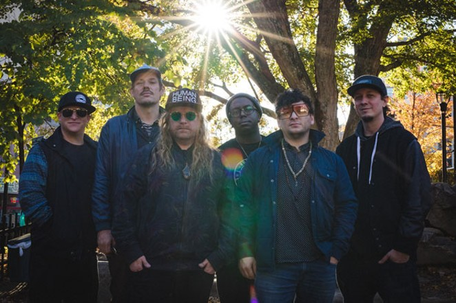 Boston-based funk band Lettuce headlines the Newberry Event Music & Arts Festival in La Pine this weekend. - ALEX VARSA