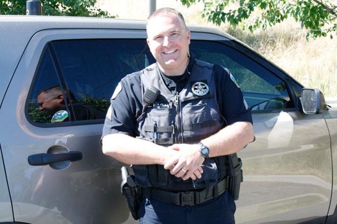 Sgt. Eric Hagen of the Bend Police Department. - CHRIS MILLER