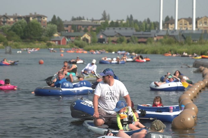 Many people depend on the Deschutes for summer recreation as well. - TIM WEHDE, CENTRAL OREGON DAILY