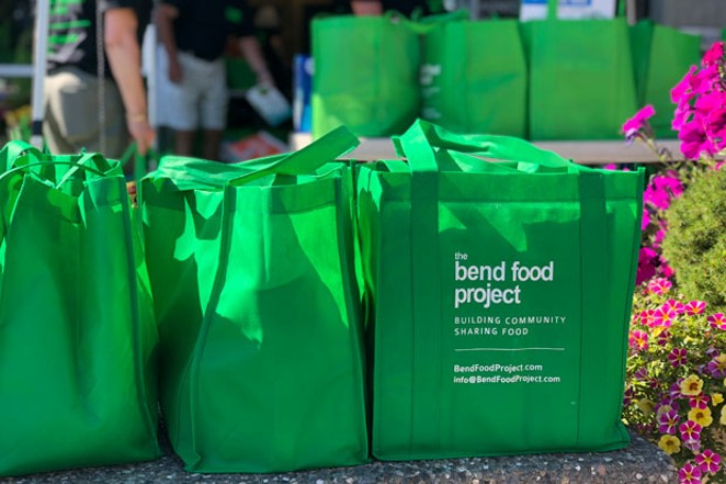 Helping the Bend Food Project is as simple as filling up a bag of food. - LISA SIPE