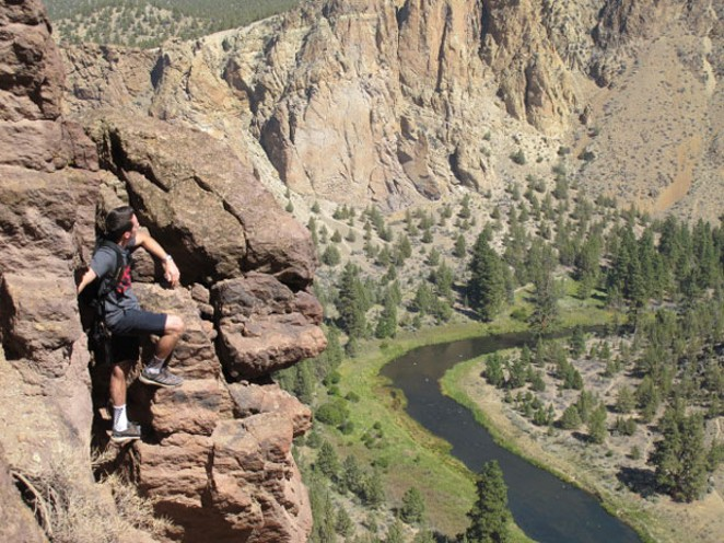 The Crooked River from Smith Rock. - DAVID SWORD