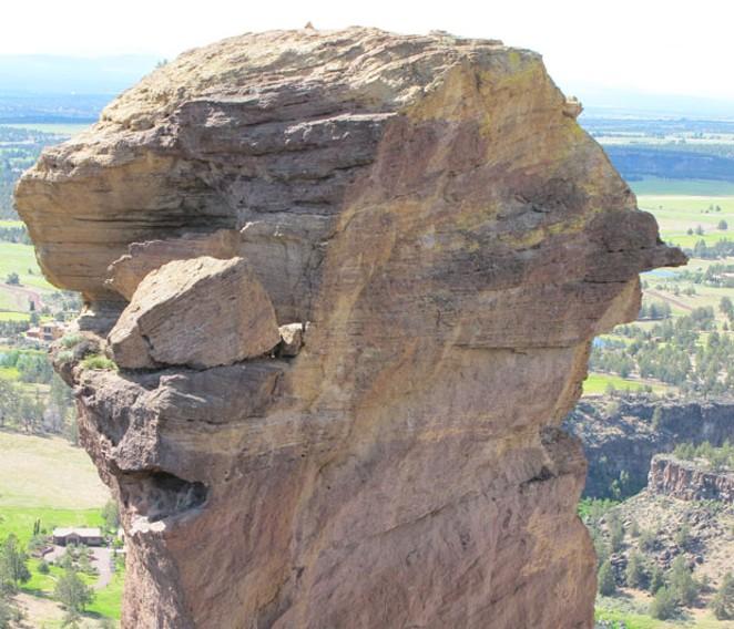 Monkey Face at Smith Rock. - DAVID SWORD