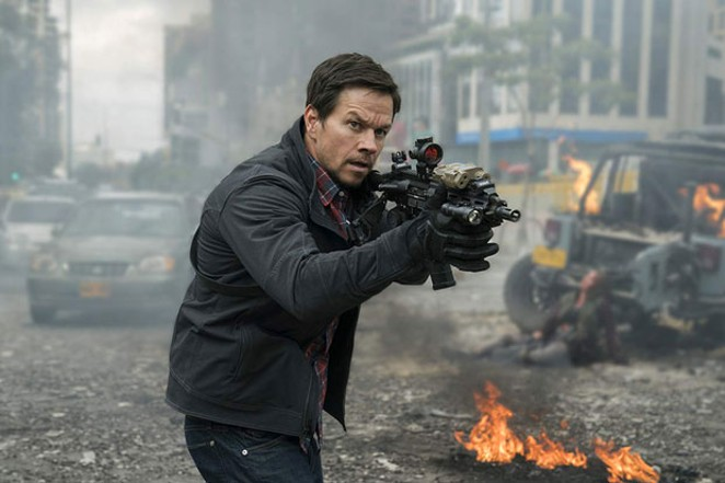 Hey look! It's Mark Wahlberg, saving us all over again. - PHOTO BY MURRAY CLOSE