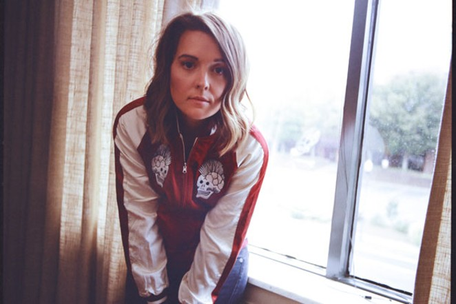 Brandi Carlile plays favorites and new tunes—and even brings in a string quartet—for her show at Les Schwab Saturday. - ALYSSA GAFKJENH