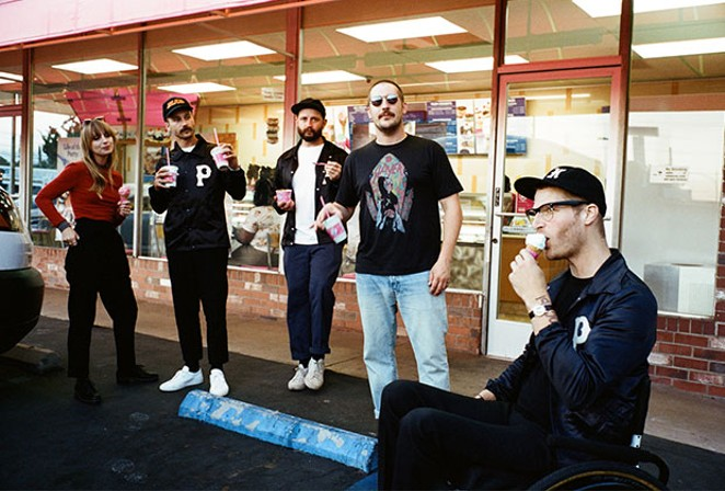 Will you be feeling it still with Portugal. The Man on Friday at the Les Schwab Amphitheater? Odds are after seeing Cold War Kids on Saturday at Oregon Spirit Distillers you'll need to be hung out to dry. - MARCLAY HERIOT