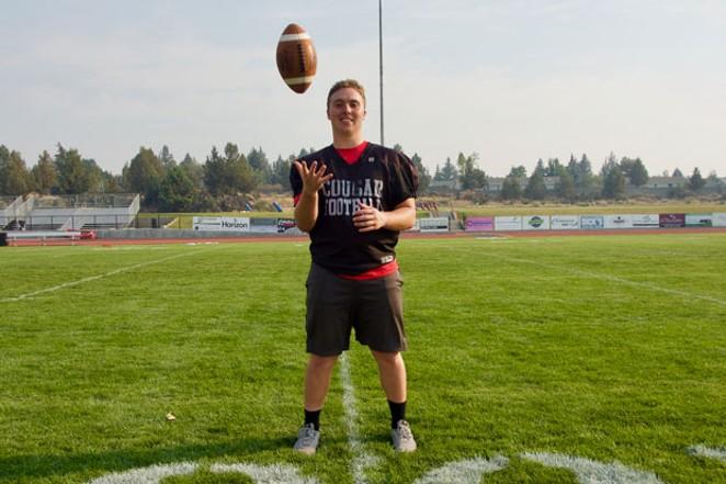 Mountain View High School senior Dalton Payfer-Lockling - CHRIS MILLER