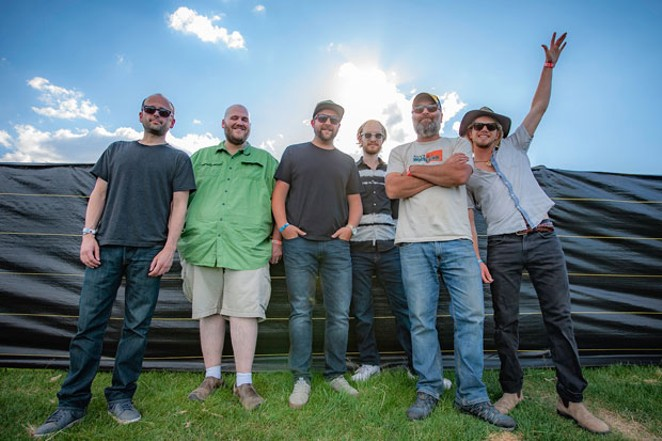 """The Travis Ehrenstrom Band debuts its new album, """"Something on the Surface"""" at Bend Brewing 9/7. - GARY CALICOTT"""