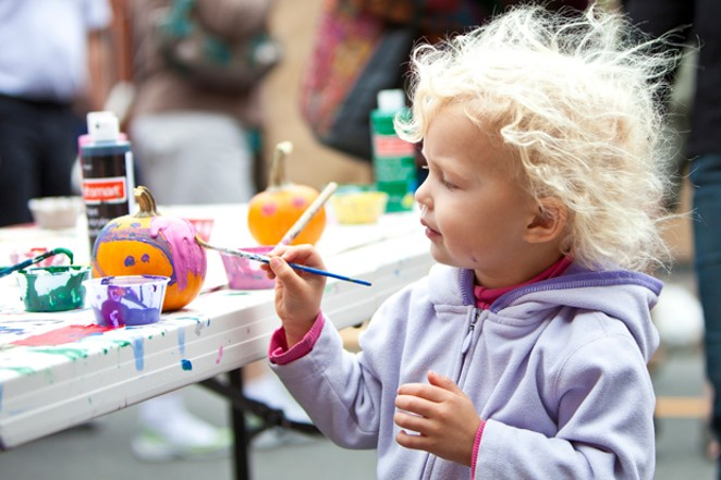 Kids will love the arts and crafts and Bend Fall Festival Oct. 5-7. - JILL ROSELL PHOTOGRAPHY.