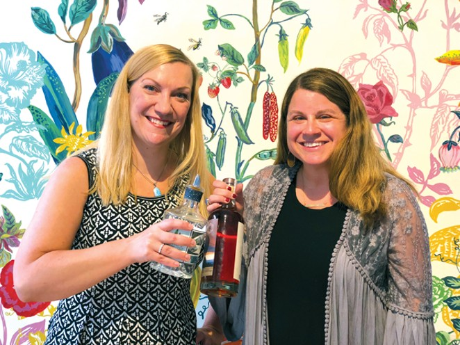 Bend's new women in liquor, Angela Chisum and Allison Cogen. - LISA SIPE