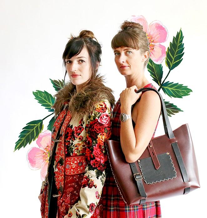 Artists Katie Daisy, left, and Sheila Dunn. - CYR PHOTOGRAPHIC