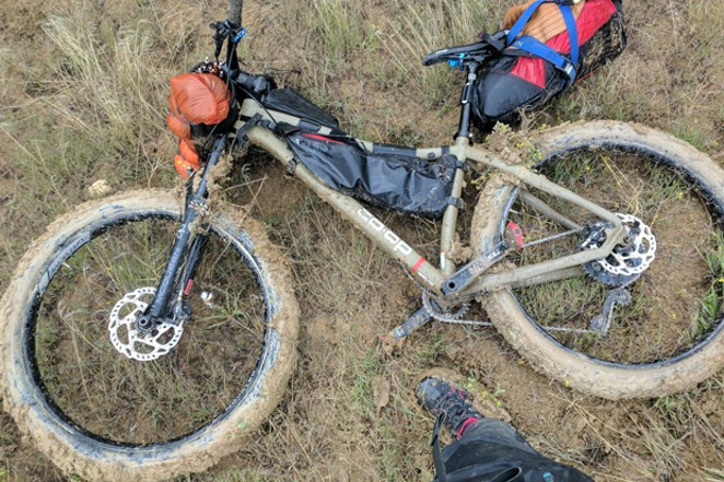 """""""Engaging The Curve"""" follows two Bend athletes as they learn a brand new sport together—mountain biking. - SUBMITTED"""