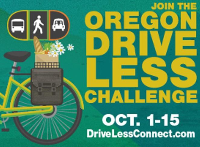 OREGON DRIVE LESS CHALLENGE