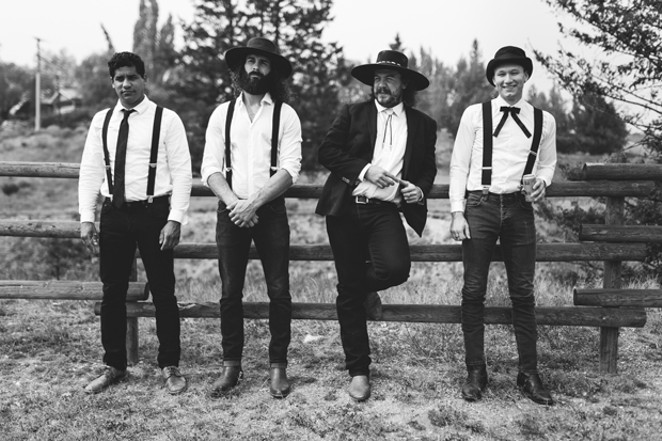 The Dead South dresses the part of a traditional bluegrass band, while staying edgy and relevant. - BRANDON WHITE