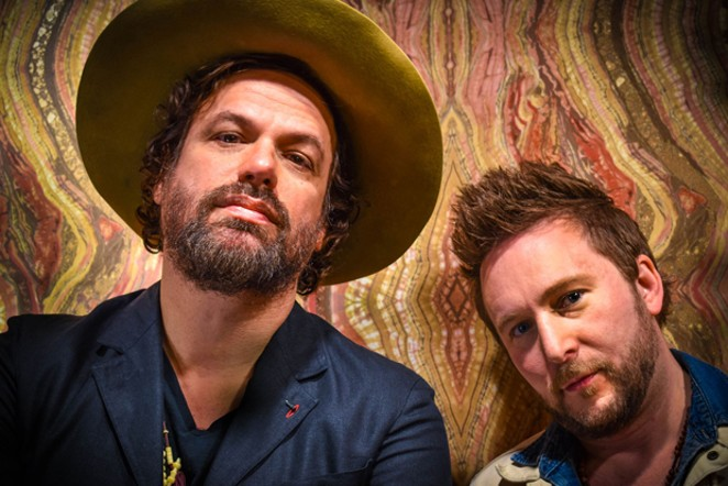 Michael Glabicki plays Rusted Root favorites as well as new songs that he considers brutally honest. - CARA FREIDHAM