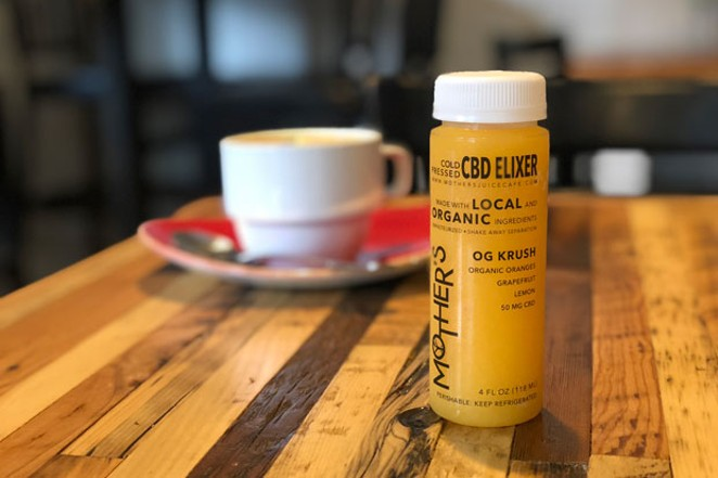 At Mother's, visitors can grab a premade CBD elixir or add CBD to any meal or drink. - LISA SIPE