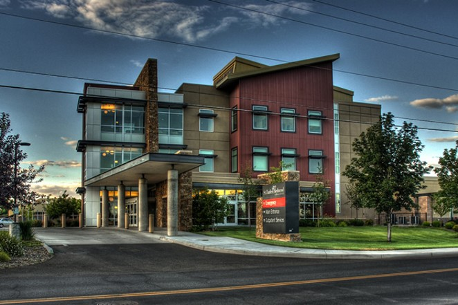 St. Charles-Redmond may close its Family Birthing Center. - JAMES SALE