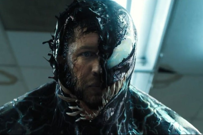 Tom Hardy unleashes the monster within. - COURTESY OF MARVEL.