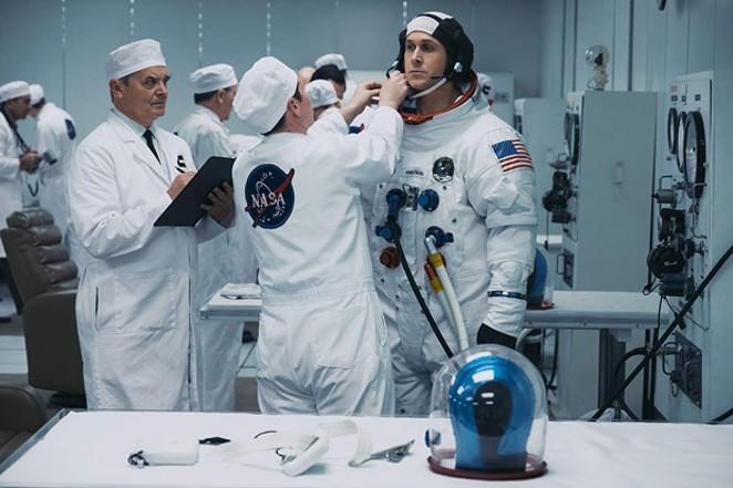 Look at that little baby goose! He's gonna be an astronaut! - DANIEL MCFADDEN
