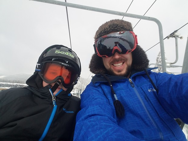 Kids in the COPY program go on outings that include skiing and other outdoor and recreational activities. - COPY PROGRAM