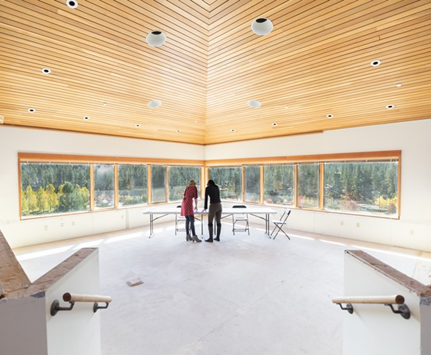 Carrie Douglass expects to open her new co-working space in Deschutes Ridge, above Bend's Riverbend Park, in April. - ANNA JACOBS – UNION CULTURE