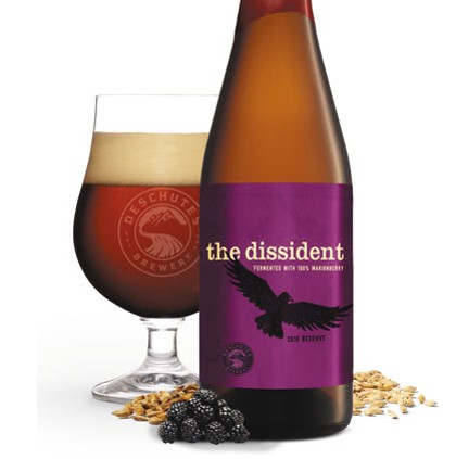The marionberry version of The Dissident is a variety worth a try. - PHOTO BY DESCHUTES BREWERY