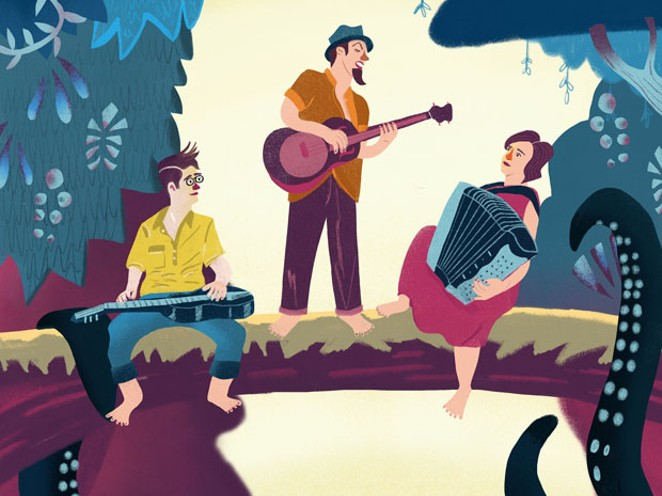 Catch the progressive folk sounds of Three For Silver at McMenamins Thursday. - SUBMITTED.