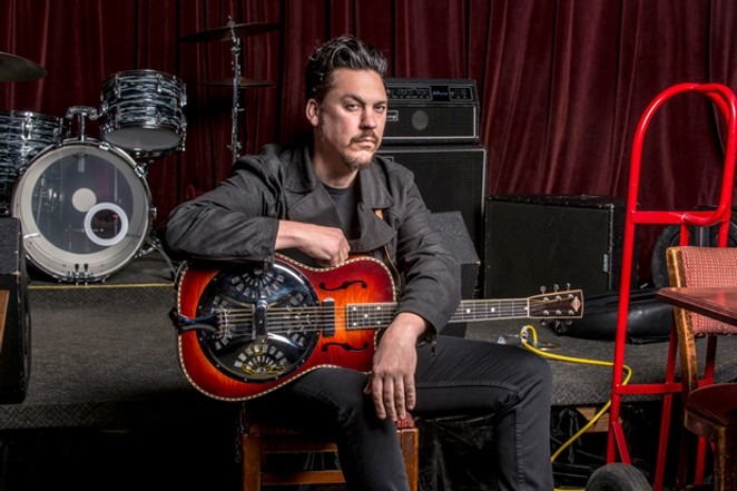 "Jesse Dayton has played alongside legends like Waylon Jennings and now creates his own brand of what he calls ""smart"" country music. - SUBMITTED."