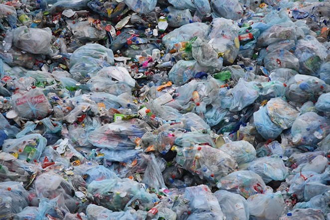 Billions of plastic bags are used in the U.S. annually. - PIXABAY