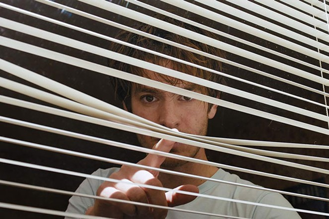 """Andrew Garfield in """"Under the Silver Lake."""" - COURTESY OF UNIVERSAL"""