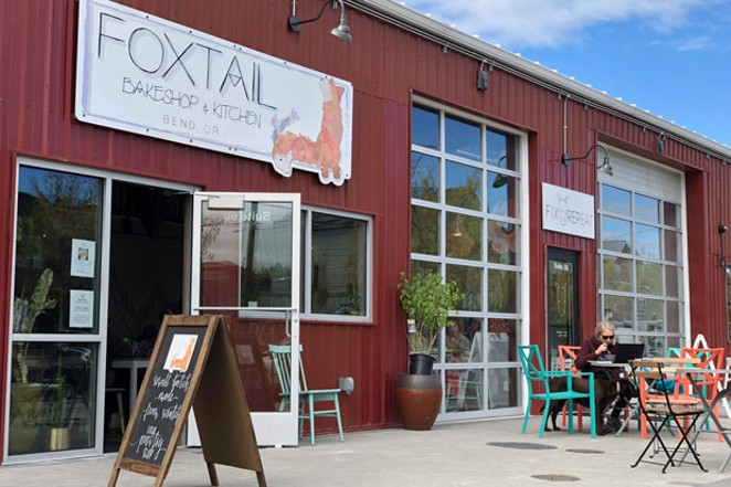 The Box Factory is booming with new restaurants: Fix & Repeat, Foxtail Bakery, Valentine's Deli, Riff Taproom, and River Pig Saloon. - LISA SIPE