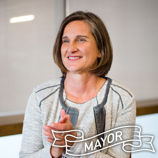 Bend City Councilor Sally Russell was elected Bend's first directly elected mayor in November, after residents voted in favor of changing the city charter in May. - JOSHUA LANGLAIS
