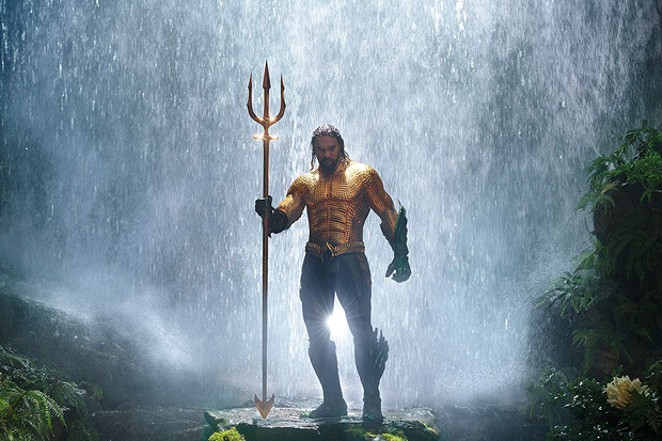 This Aquaman talks to fishes AND the ladies. - SUBMITTED
