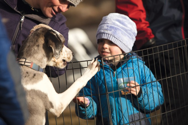 Bring the whole family to the Old Mill Feb. 15-17 for Oregon Winterfest. - BRIAN BECKER
