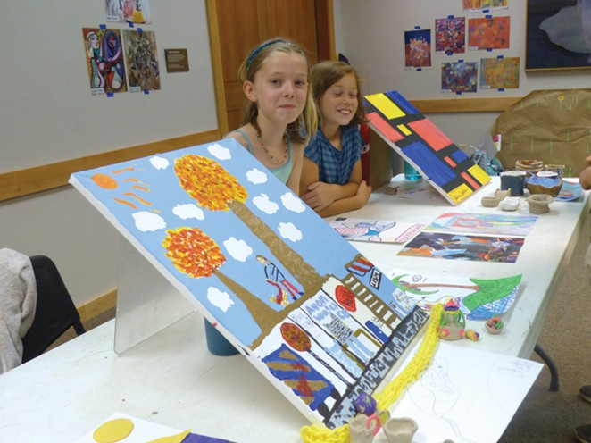 Kids love the High Desert Museum's Art Camp. - SUBMITTED