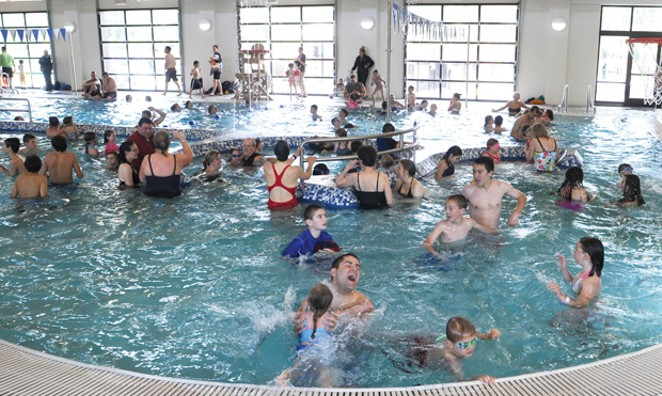 SHARC aquatic center. - SUBMITTED