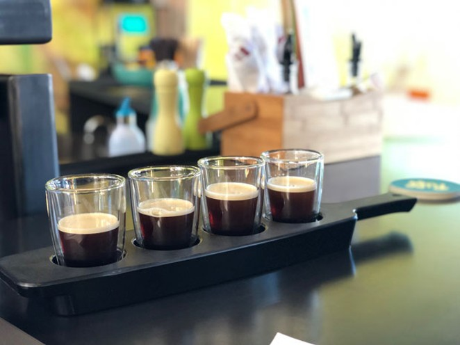 With 30 taps, order a flight to find your favorite kind of brew. - LISA SIPE