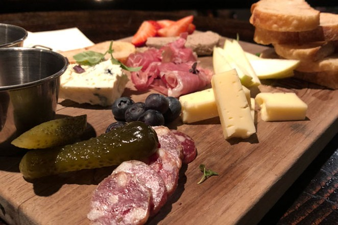 The charcuterie plate - CHRIS MILLER