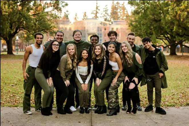 The University of Oregon's Mind the Gap performs Friday at the Tower. - SUBMITTED PHOTO