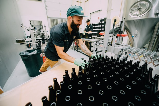 pFriem's expansion will include a new canning line, adding more variety to its offerings. - PFRIEM FAMILY BREWERS