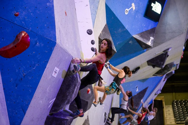 Mira Capicchioni won the Female Youth category at Nationals in February. - LISA CAPICCHIONI