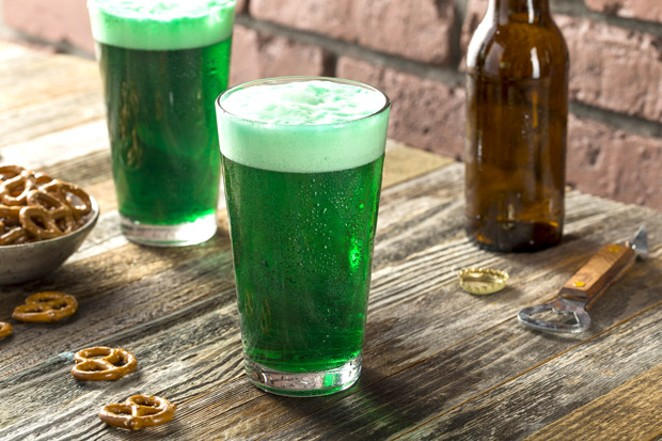 Green beers! - CAN STOCK PHOTO / BHOFACK2