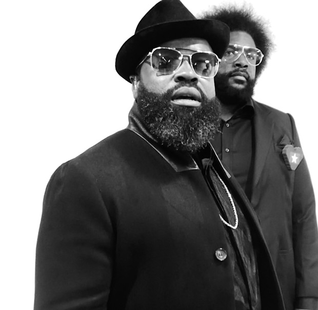 The Roots perform on Saturday, 6/15, at the Les Schwab Amphitheater. - SUBMITTED