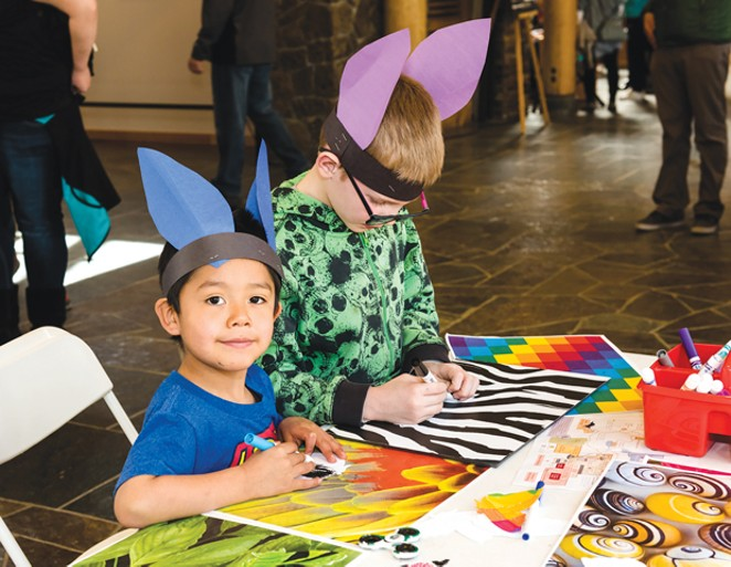 It's Kid's Day at the High Desert Museum March 27. - SUBMITTED