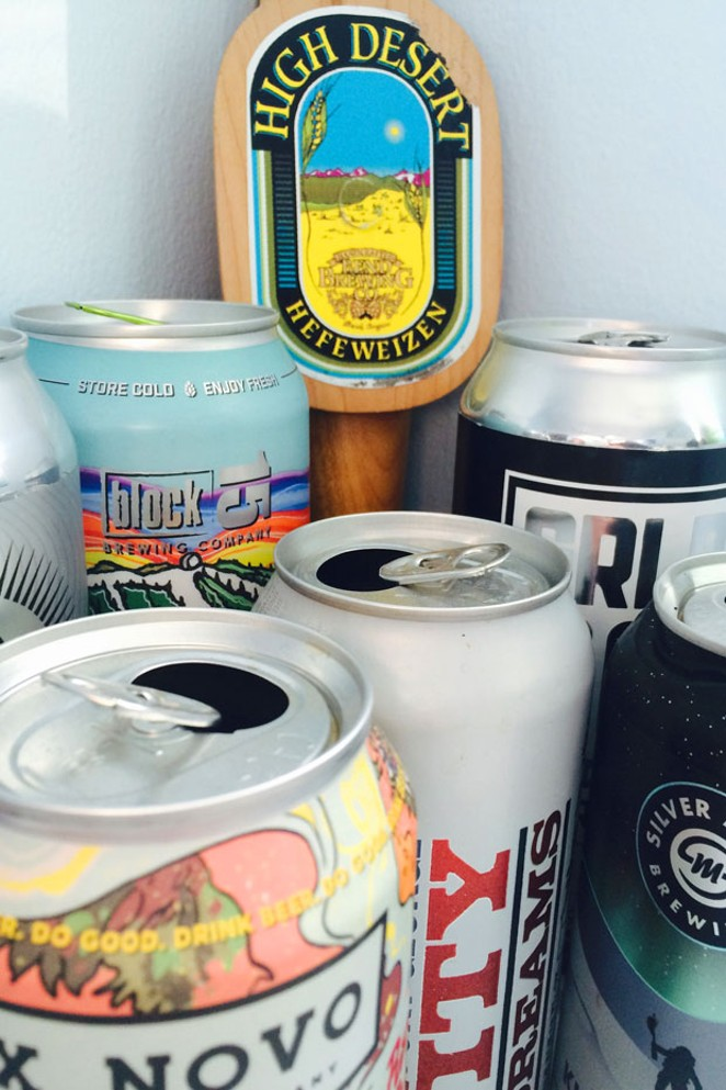 Long forgotten year-round beers can get lost in a sea of one-off cans. - ZACH BECKWITH