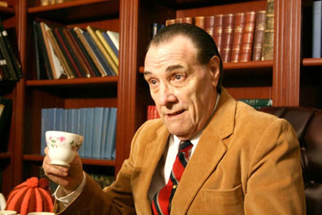 David Payne plays C. S. Lewis in a one-man show, appearing for just one night at the Tower. - SUBMITTED